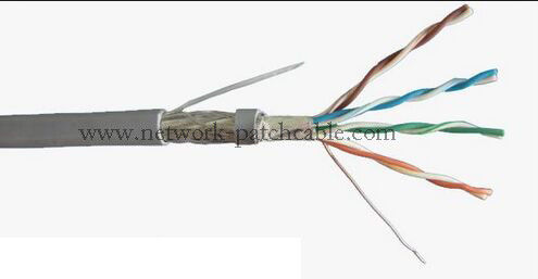 Telecommunication CE ISO Cat 5e Network Cable Standard Network PE Insulation
